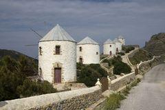 Windmühlen in der Ägäis