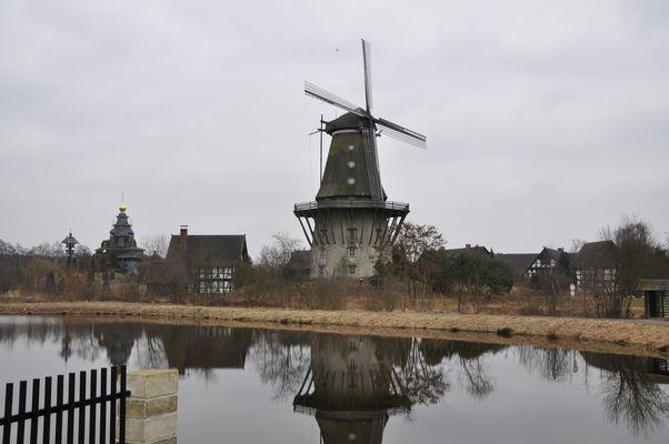 Windmühlen in Gifhorn - Südheide