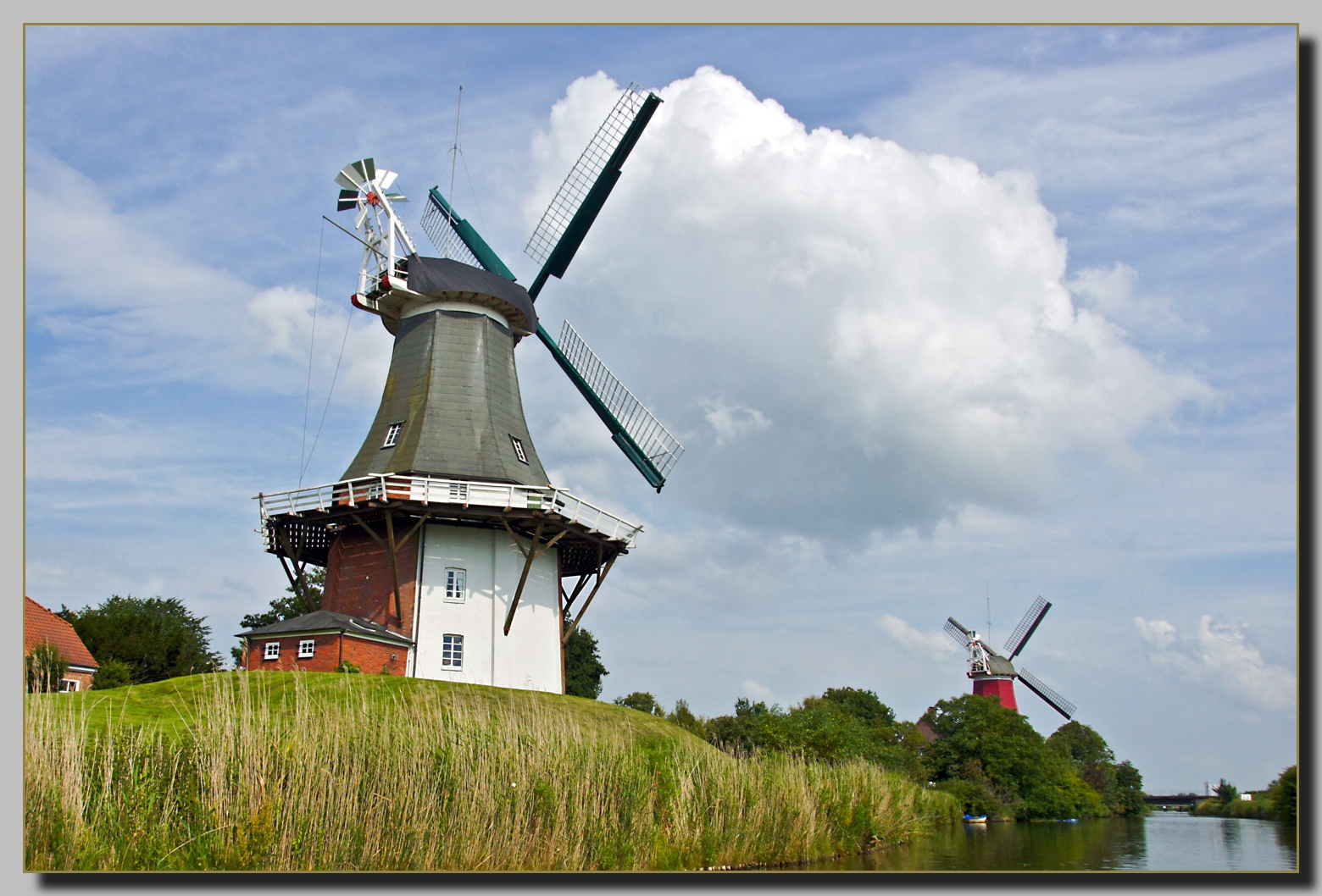 Windmühlen in Greetsiel