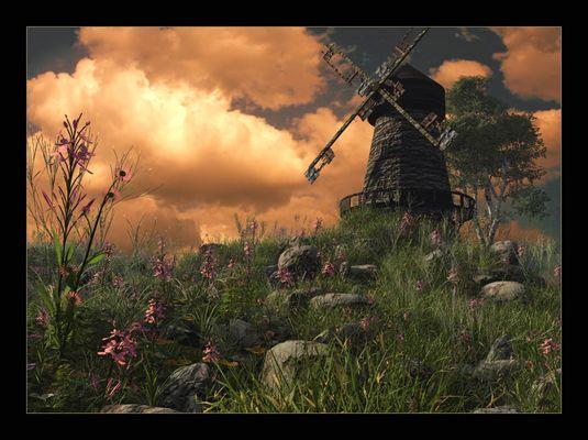 Windmühlenebene