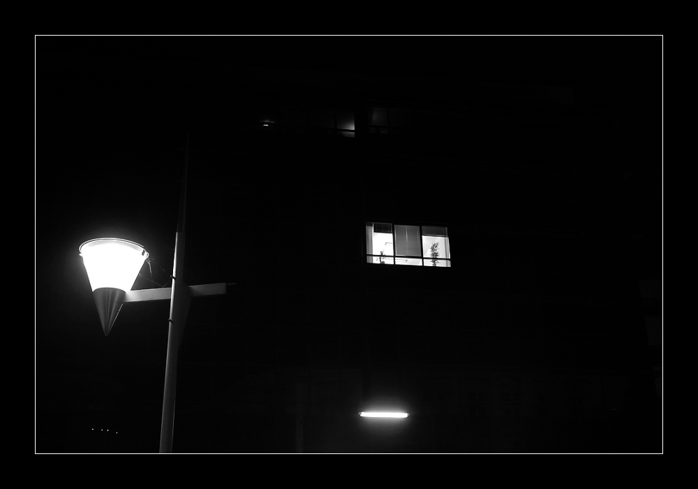 Window in the dark