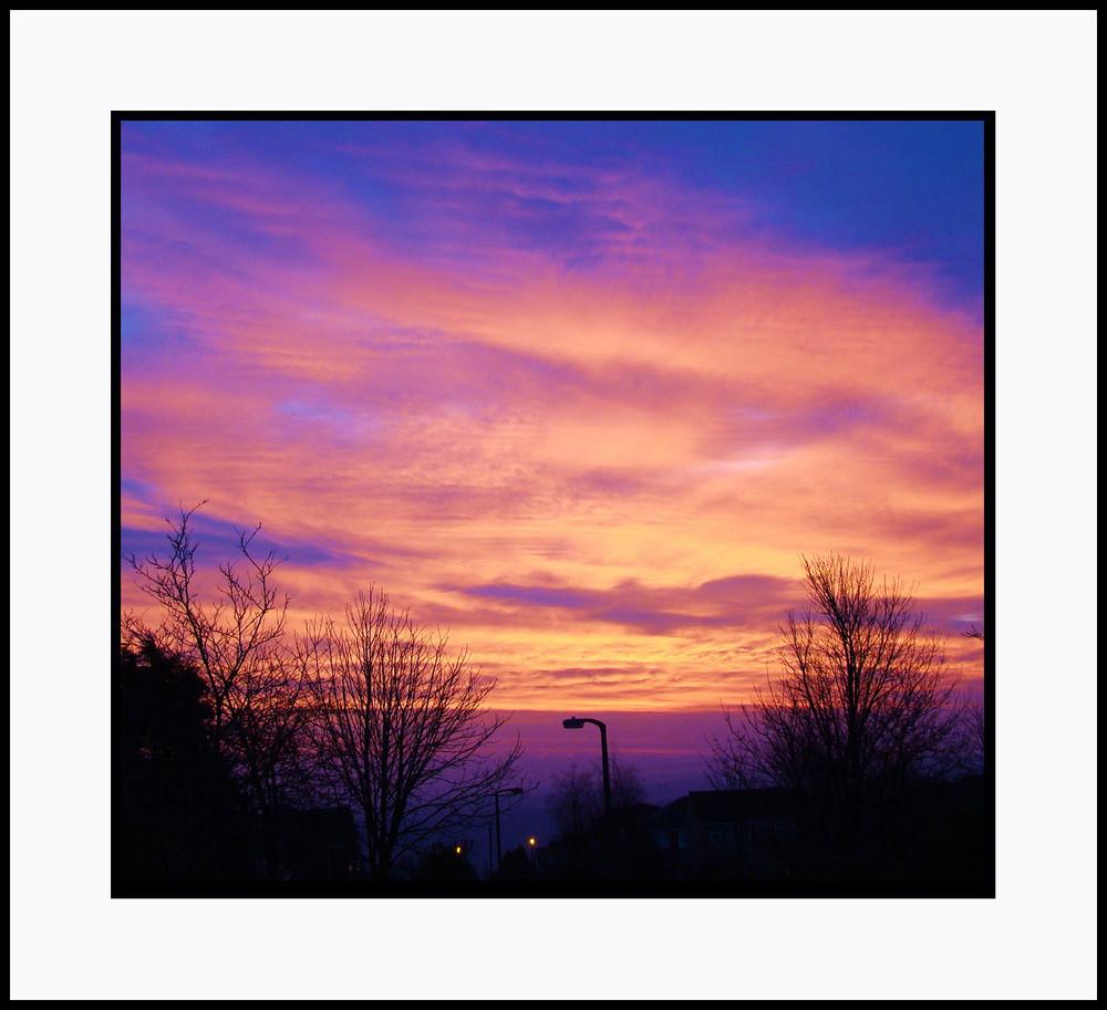 Window Sunrise