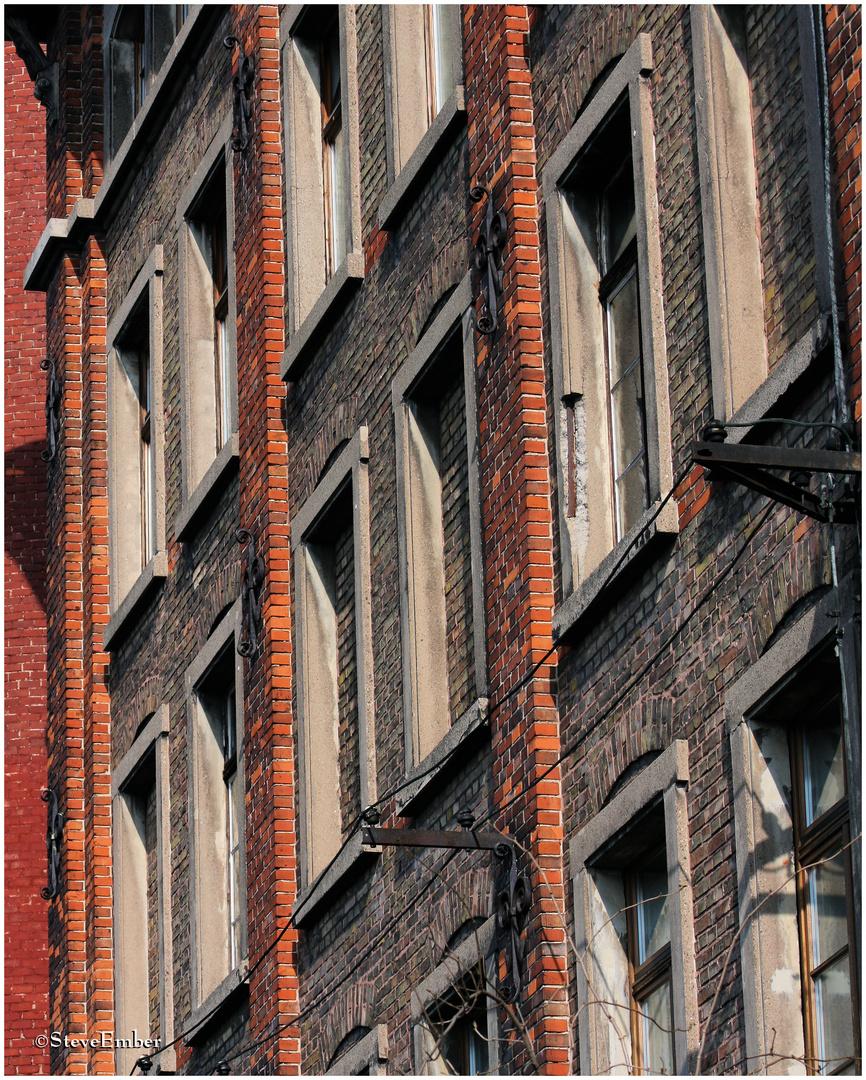 Windows and Old Brick, Heidelberg