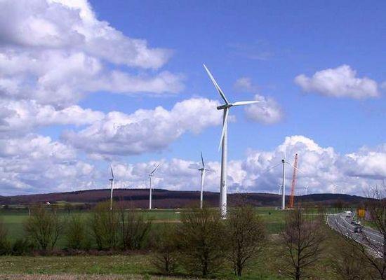 Windpark bei Paderborn