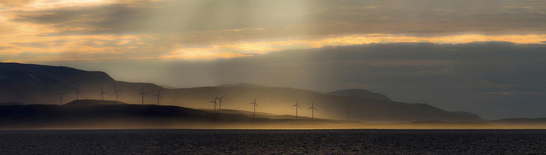 Windpark im Norden