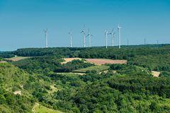 Windpark oberhalb Altenbamberg