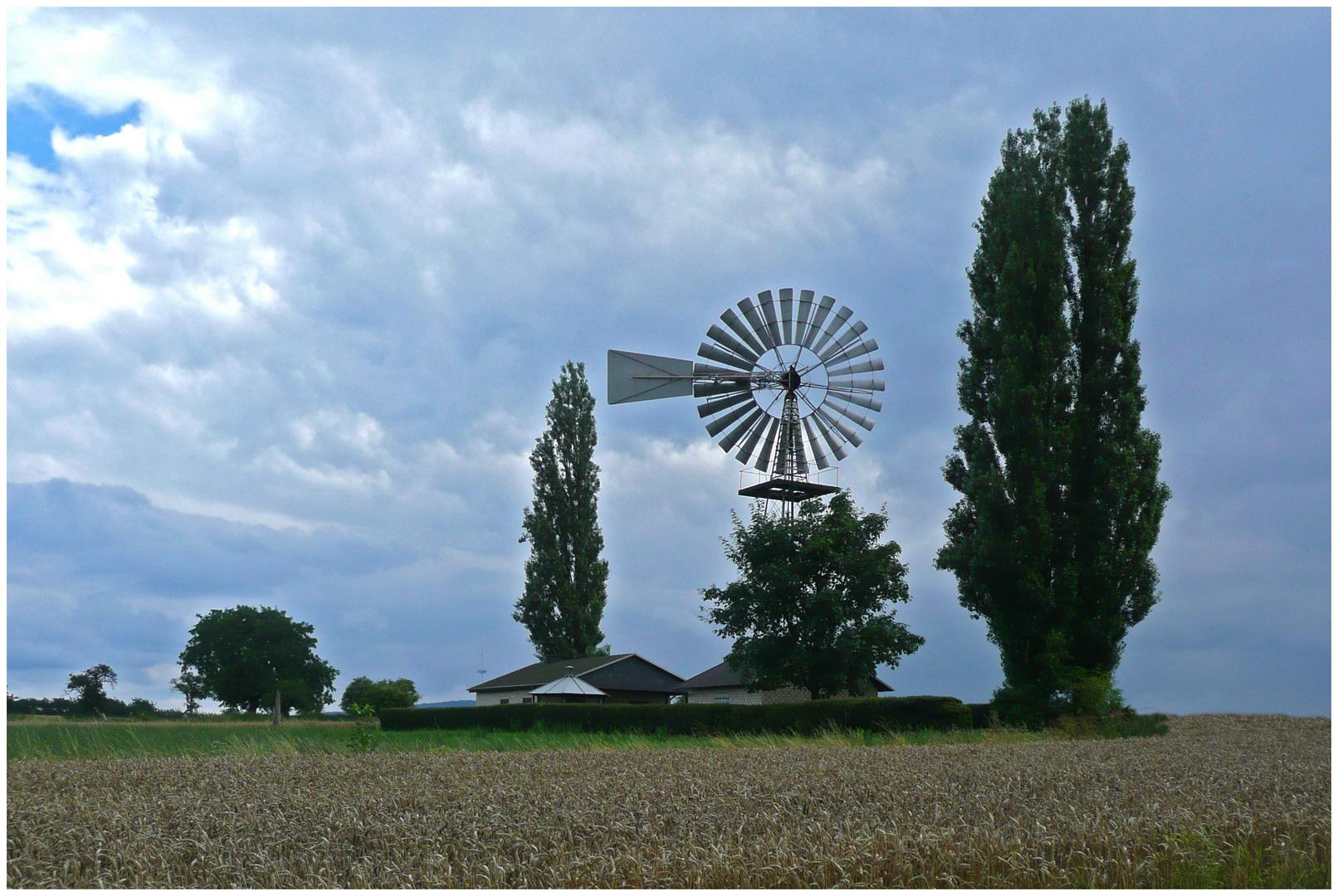 Windrad in Koblenz-Metternich (1)