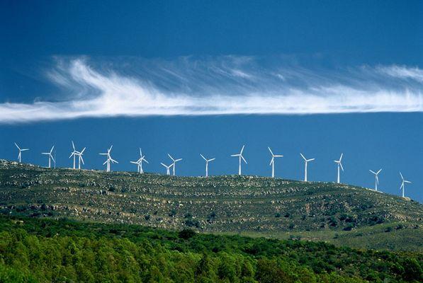 Windräder über Tarifa