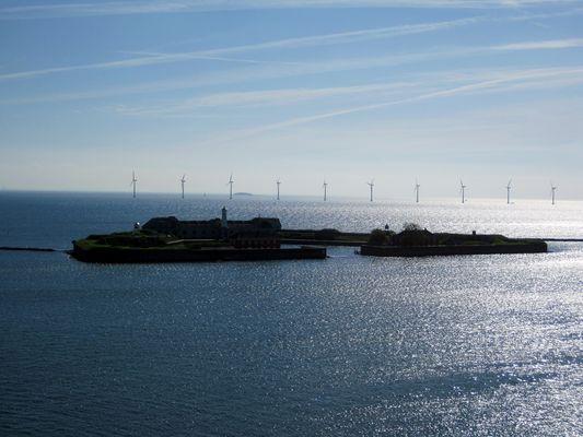 Windräder vor Kopenhagen