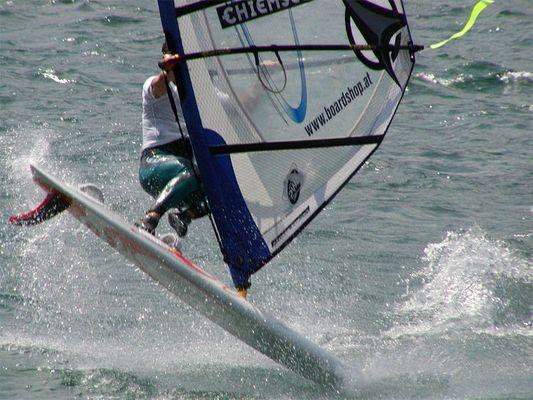 Windsurfer / Gardasee