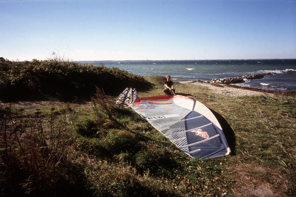 Windsurfer @ Strande