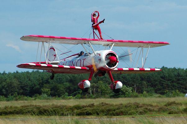 Wing Walker in Sanicole Be - 2007