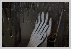 winkende Hände