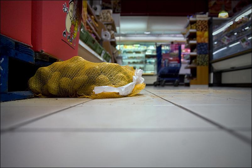 Winkende Kartoffeln im Supermarkt und was für Probleme sich in eurem Einkaufswagen abspielen...