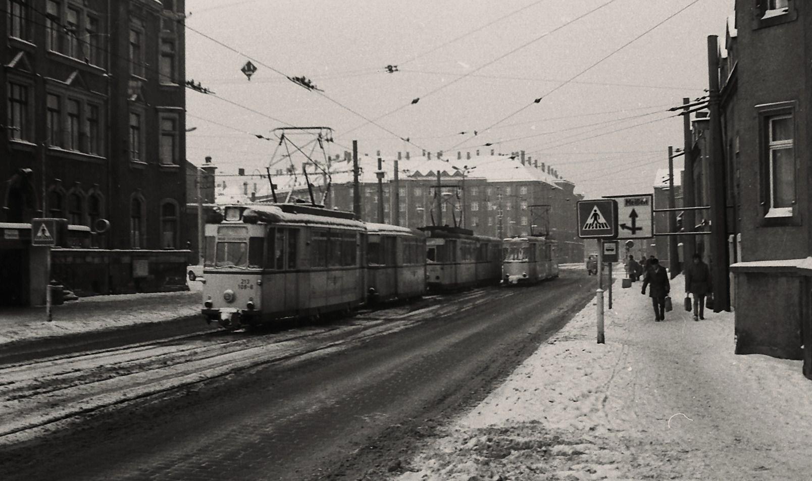 Winter 1985 in Dresden