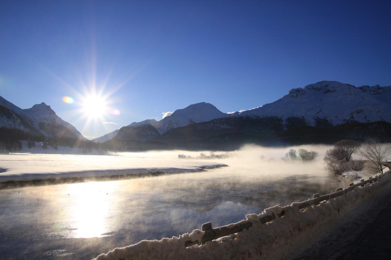 Winter 2008 bei St Moritz