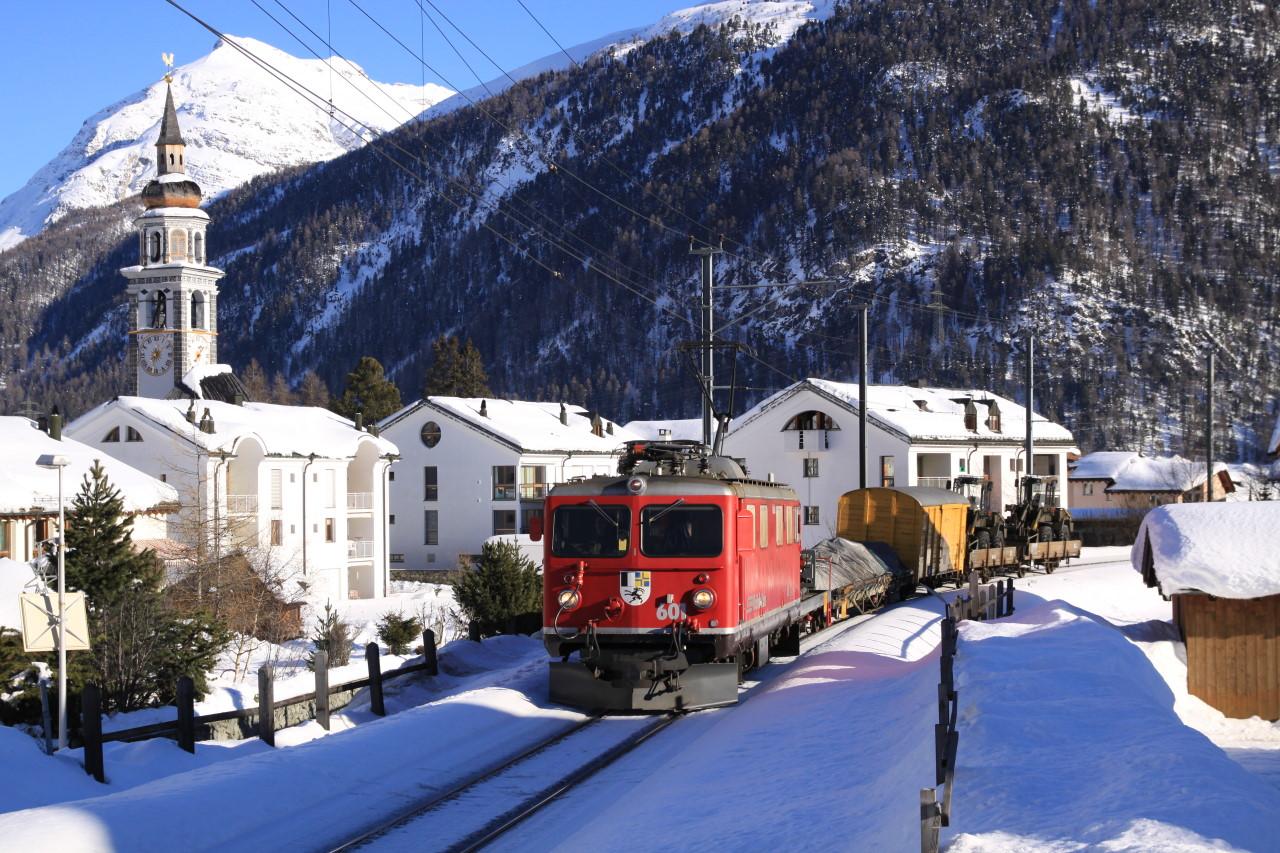 Winter 2008 in Bever