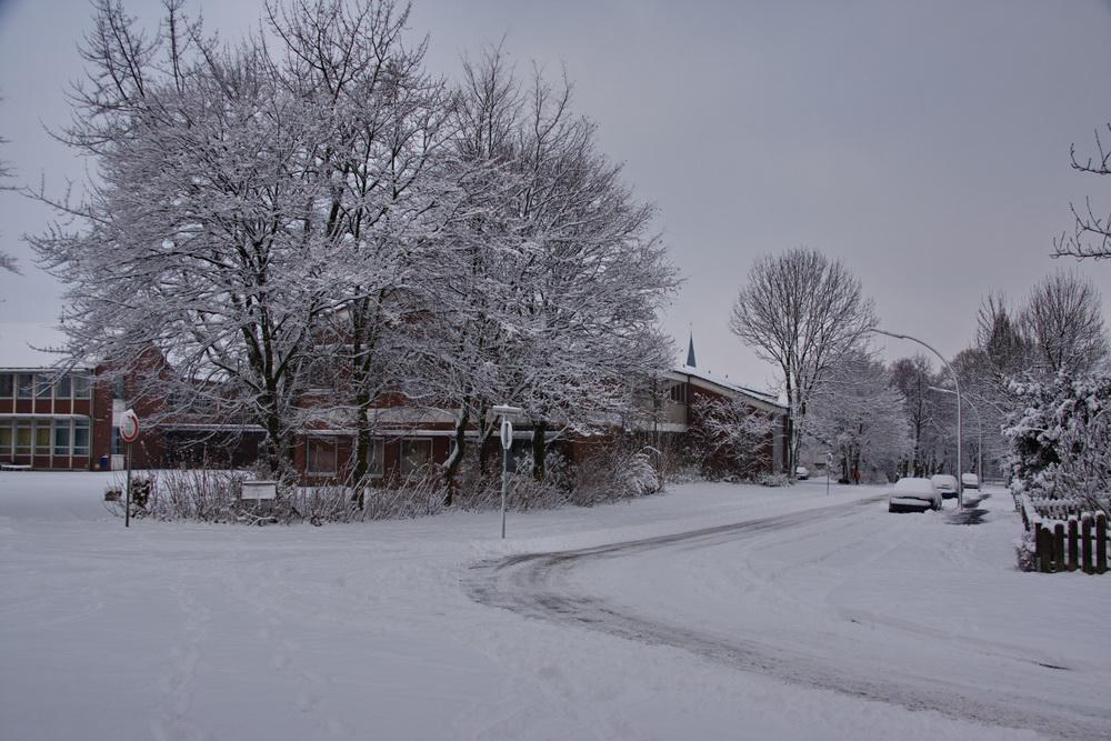 Winter 2009 an der Hauptschule Neubeckum
