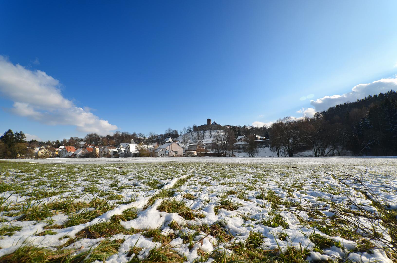 Winter am Burgberg