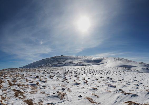 Winter am Dobratsch