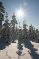 Winter am Fichtelberg