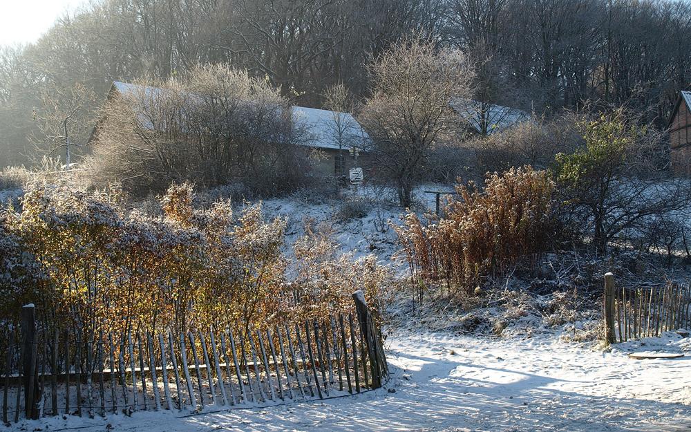 Winter am Kiekeberg