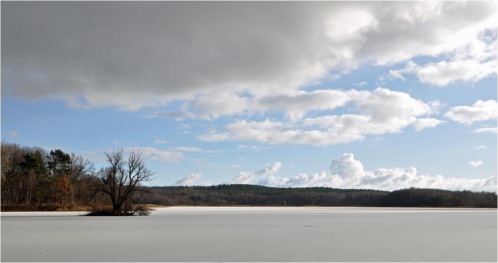 Winter am Kölpinsee