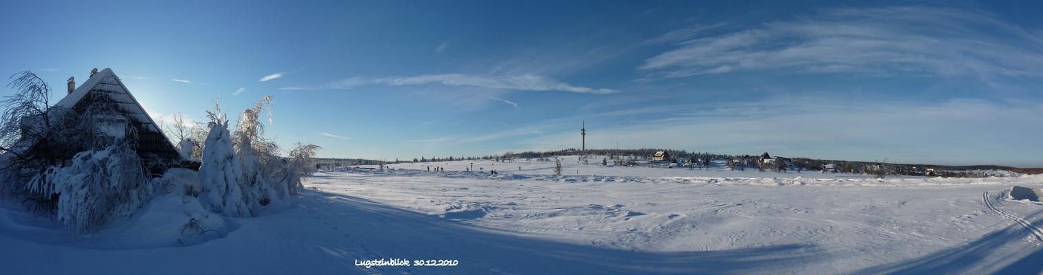 Winter am Lugstein bei Zinnwald-Georgenfeld