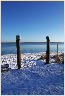 Winter am Meer