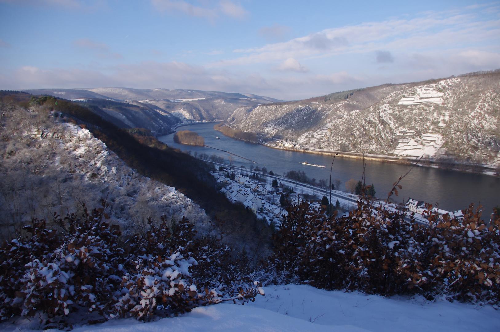 Winter am Mittelrhein