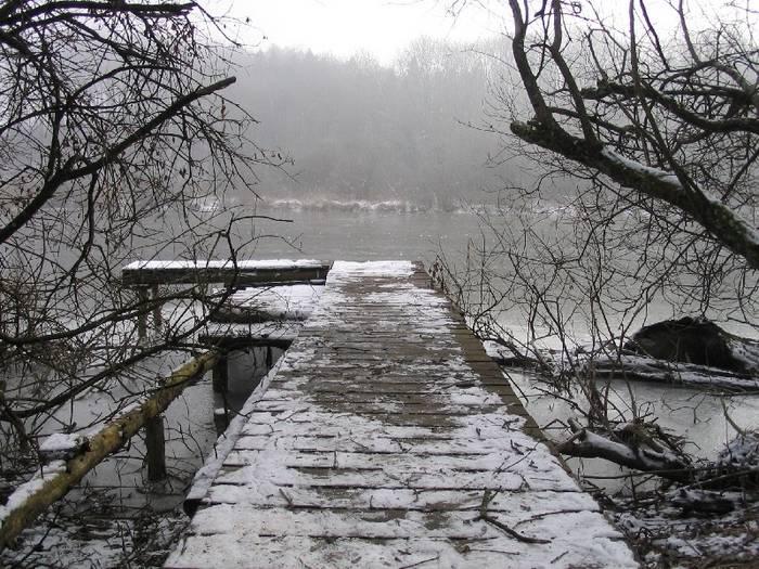Winter am Mühlweiher