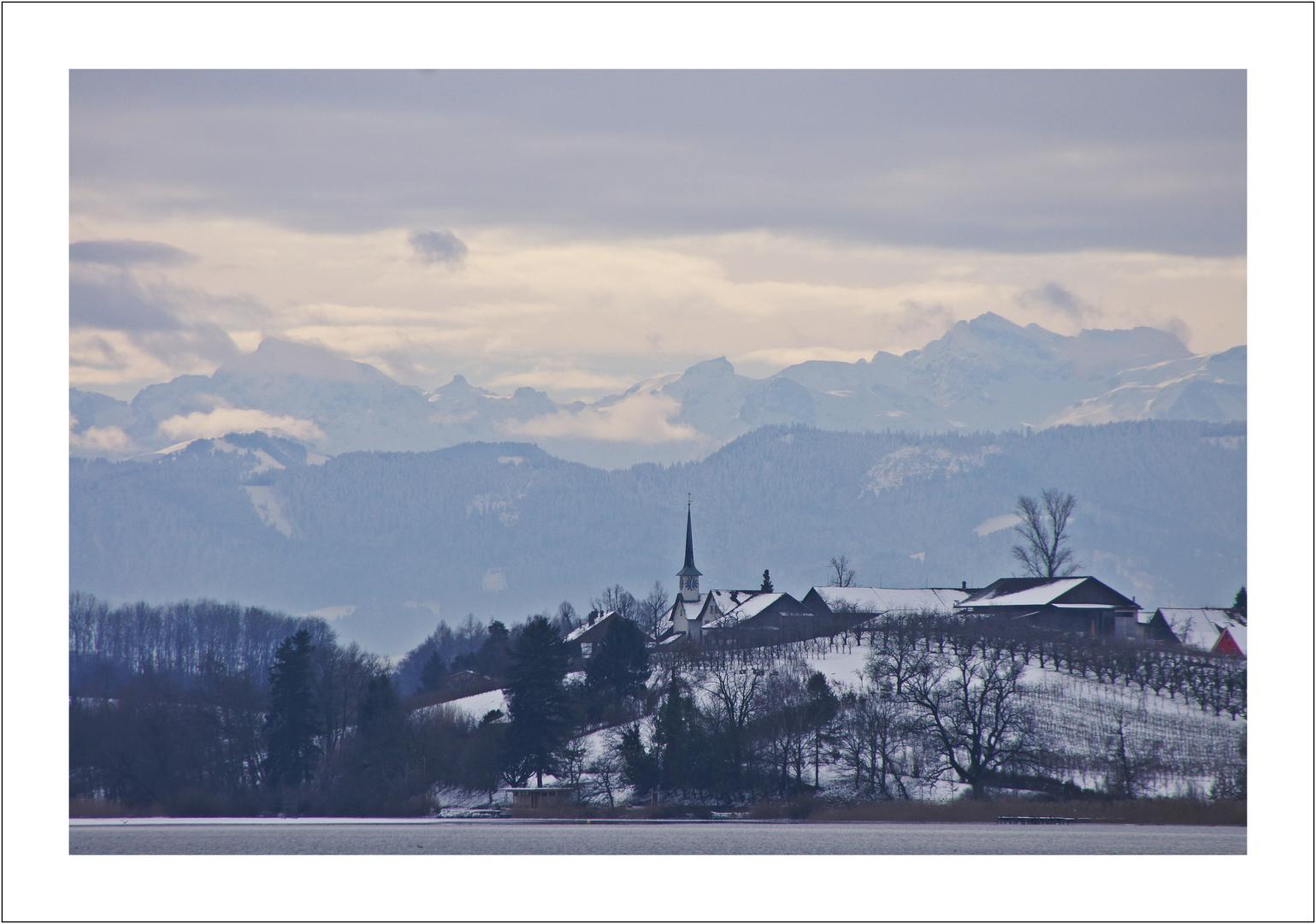 Winter am Pfaeffiker See
