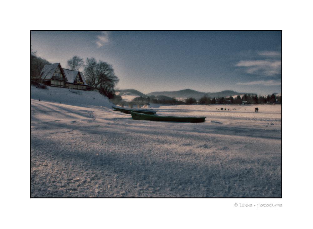 ...Winter am See...