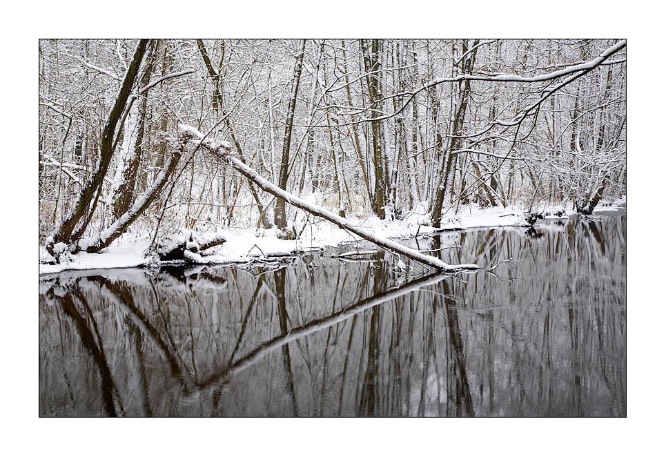 """"""" Winter an der Ammersbek"""""""