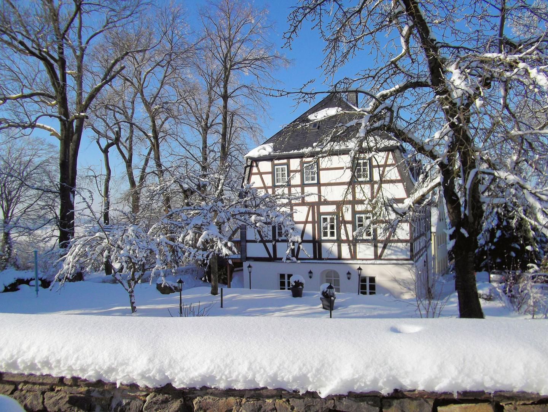 Winter an der Augustusburg