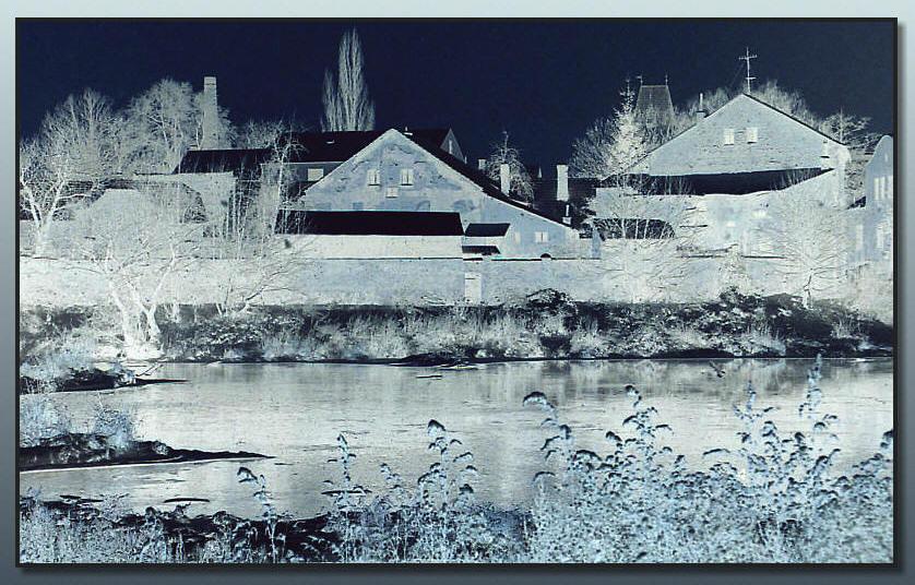Winter an der Berounka