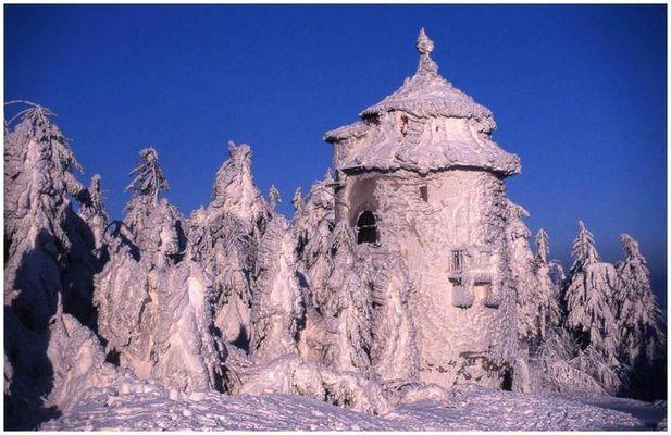 Winter an der böhmischen Grenze
