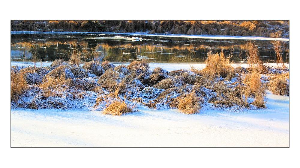 Winter an der Ilz