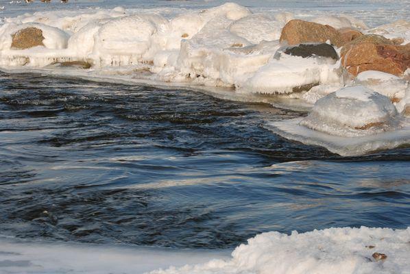 Winter an der Kieler Förde
