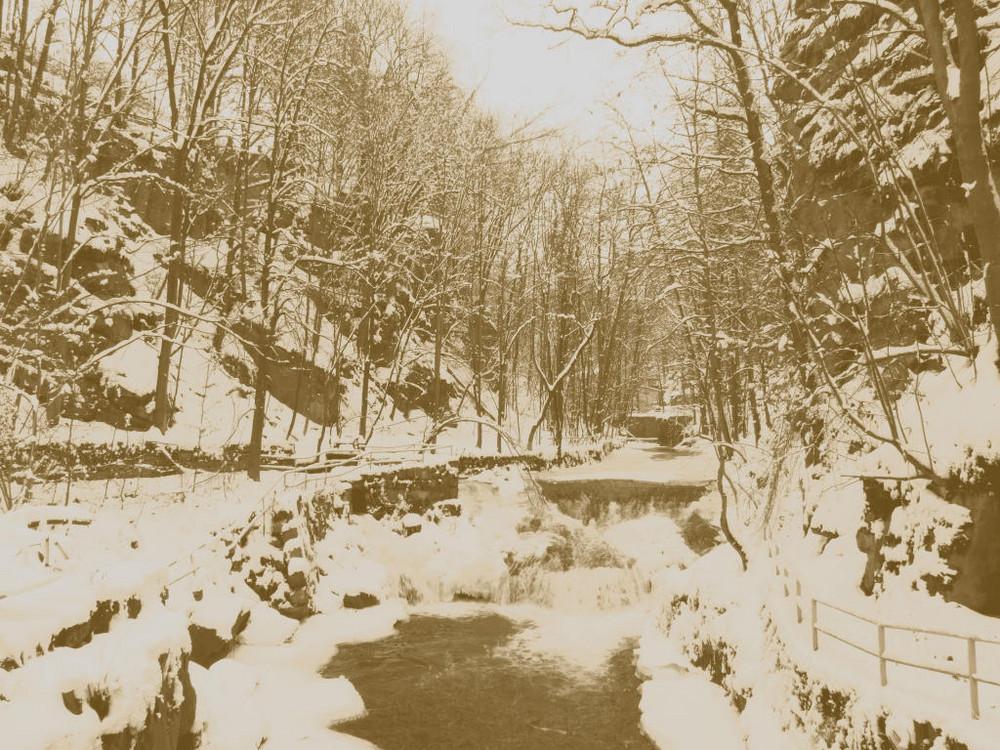Winter an der Lochmühle