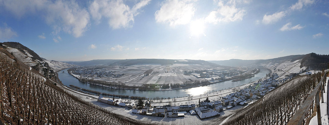 .... winter an der mosel ....
