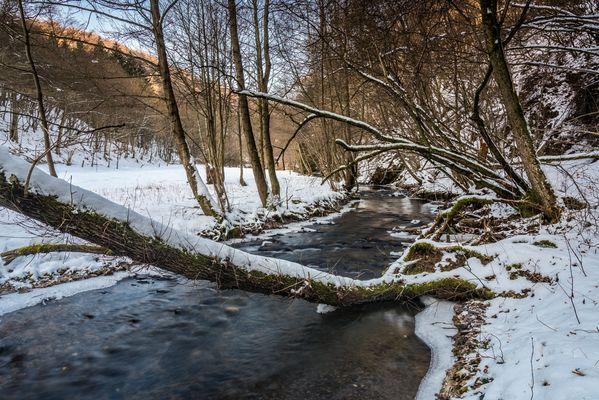 *Winter an der Nette*