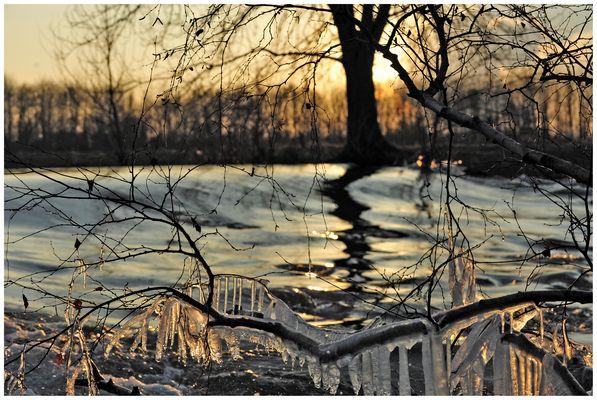 Winter an der Rur