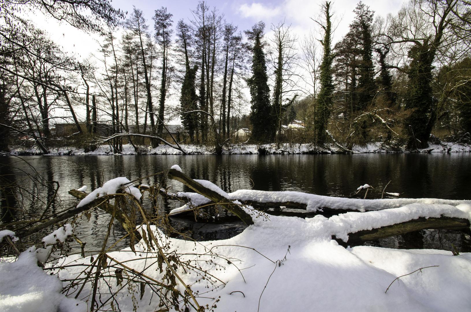 Winter an der Rur in der (Vor)eifel