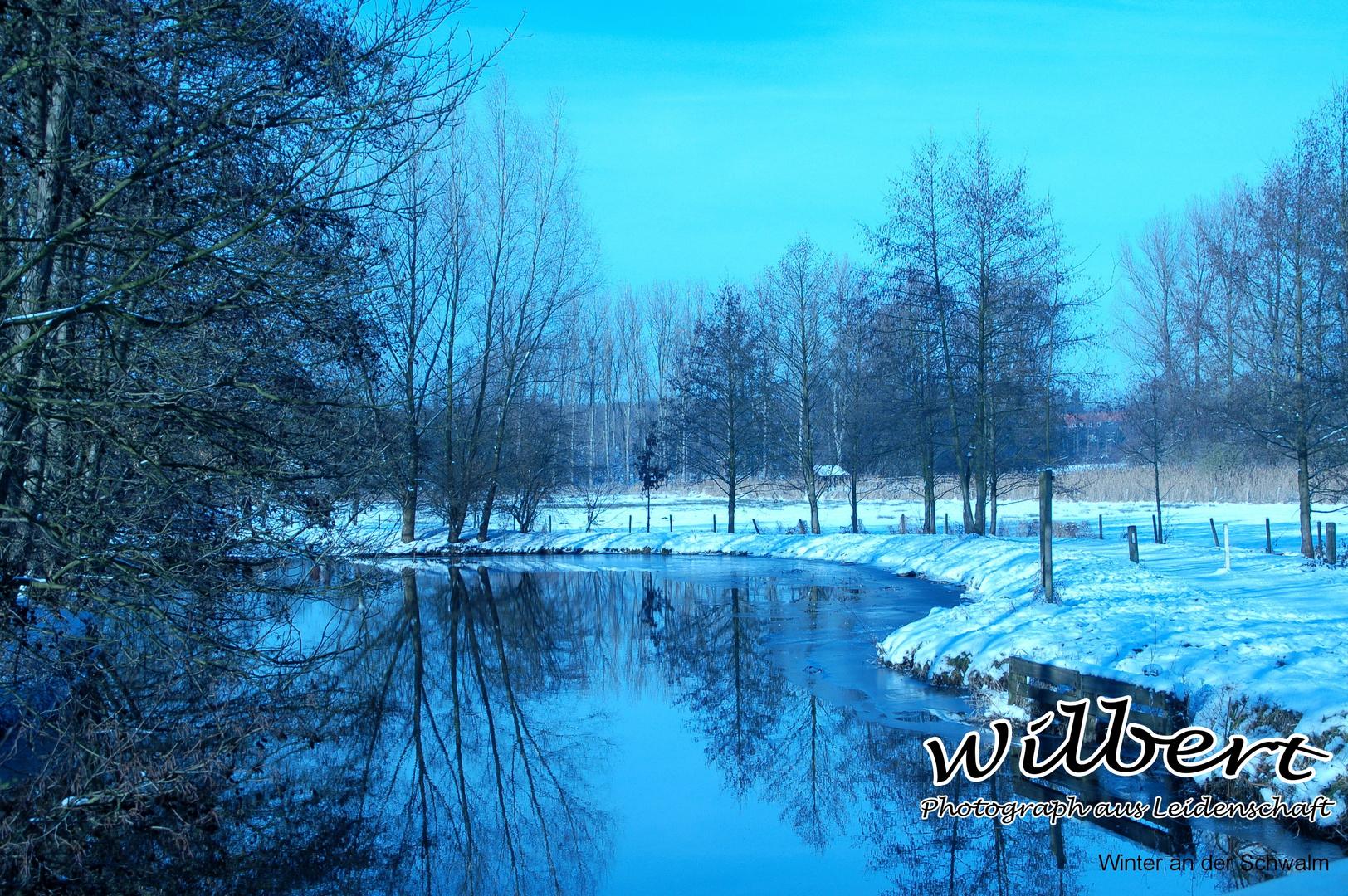 Winter an der Schwalm