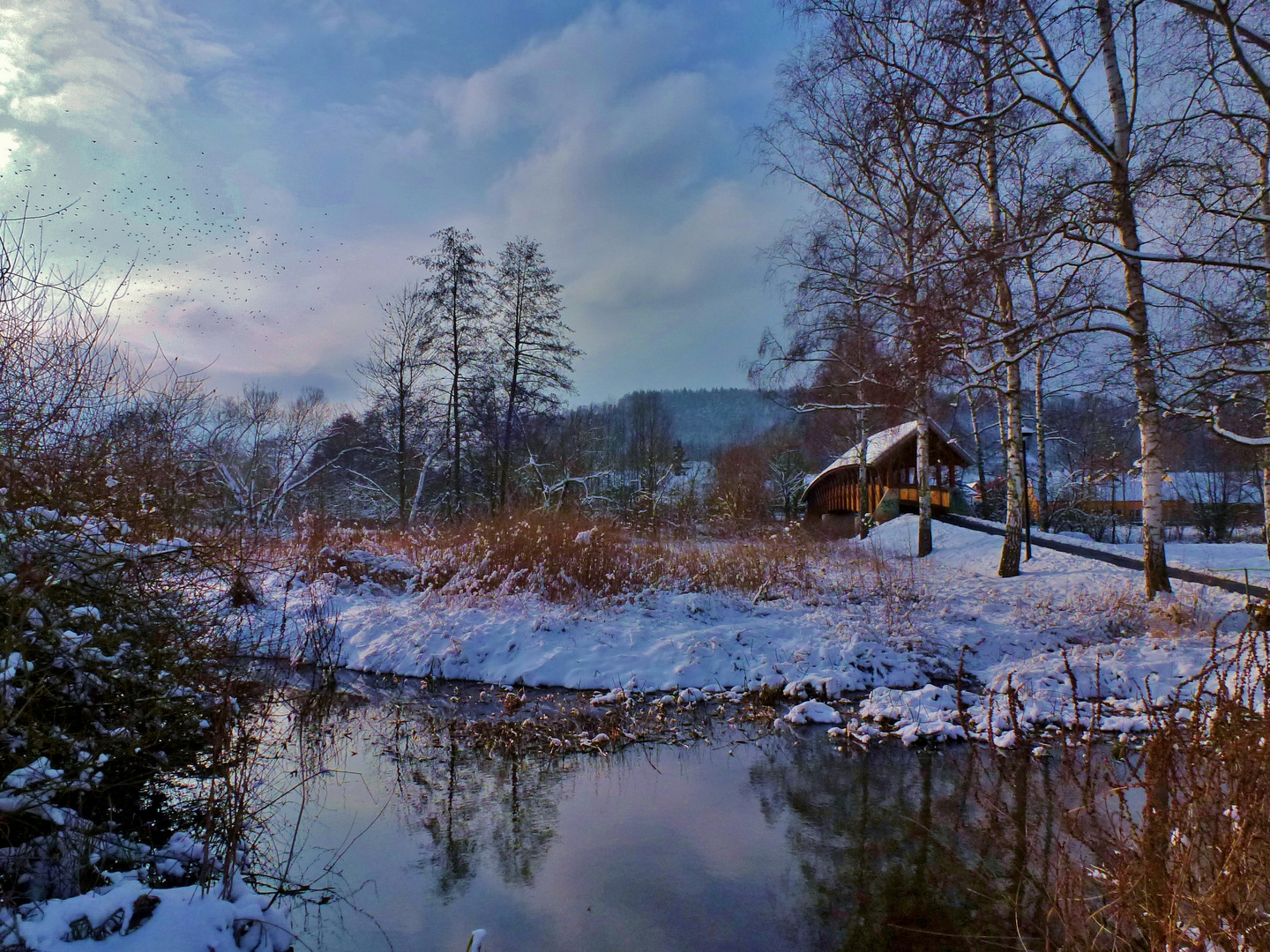 Winter an der Tauber