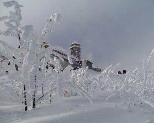 Winter an Sachsens höchster Stelle