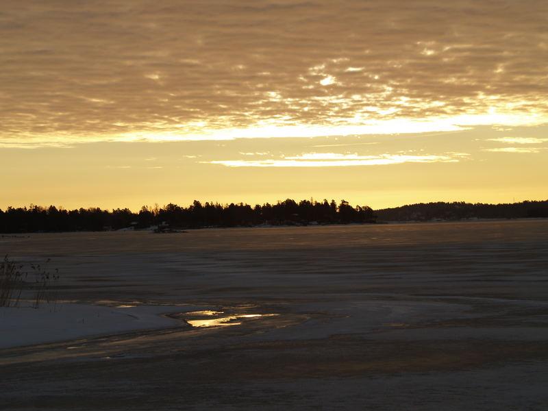 Winter and sunlight