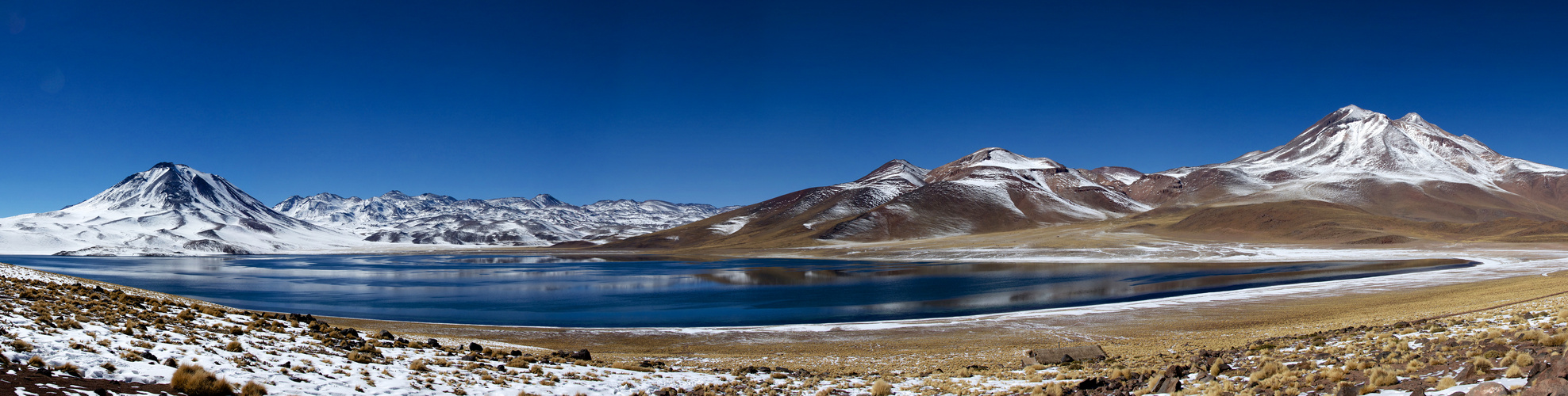 Winter at Atacama Desert Chile - Laguna Miscanti