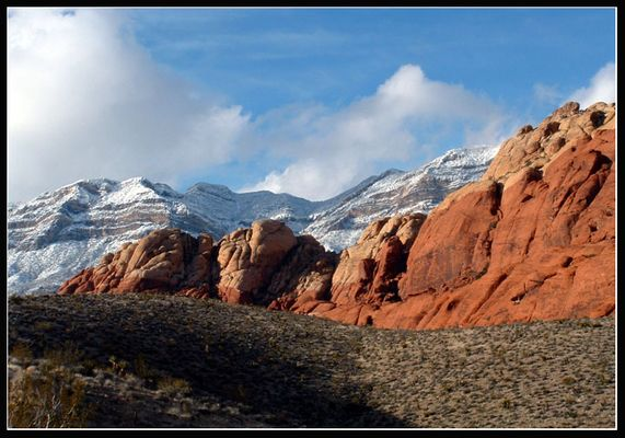 Winter at Red Rock